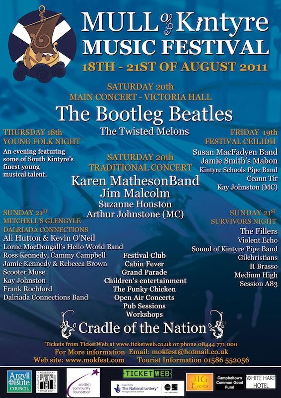 History – Mull of Kintyre Music Festival