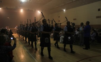 Kintyre School Pipe Band