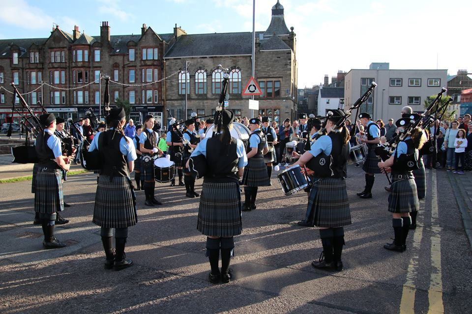 Kintyre Schools Pipe Band