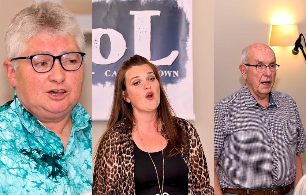 Christine Macintyre, Fiona & Calum Ross sm