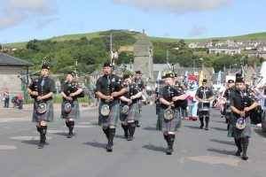 Machrihanish Dunes Sound of Kintyre Pipe Band