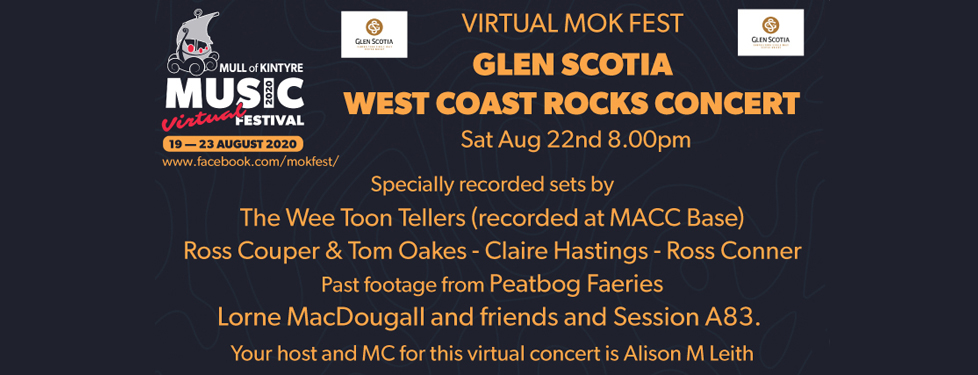 Glen Scotia Virtual West Coast Rocks Concert
